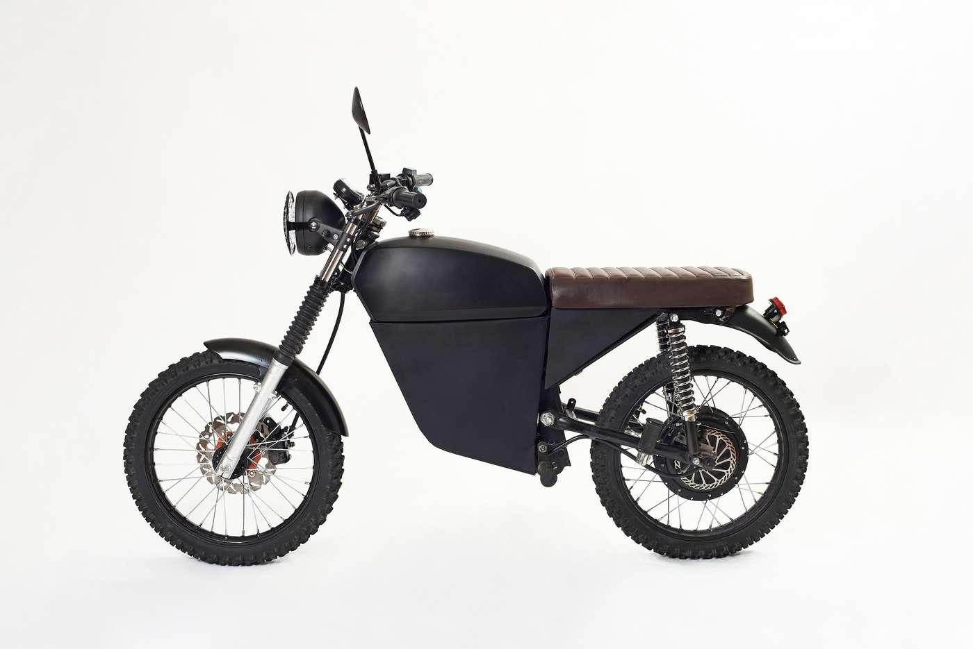 La BlackTea a un look vraiment sympa, pour qui aime le style vintage… © BlackTea Motorbikes