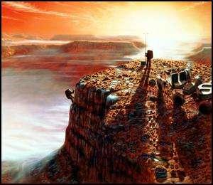 L'Homme sur Mars, quand et qui ?...