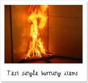 Réaction au feu d'un matériau - Source Arclad
