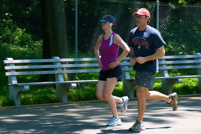 La course à pied est un sport accessible et peu coûteux. © Ed Yourdon, flickr, cc by sa 2.0