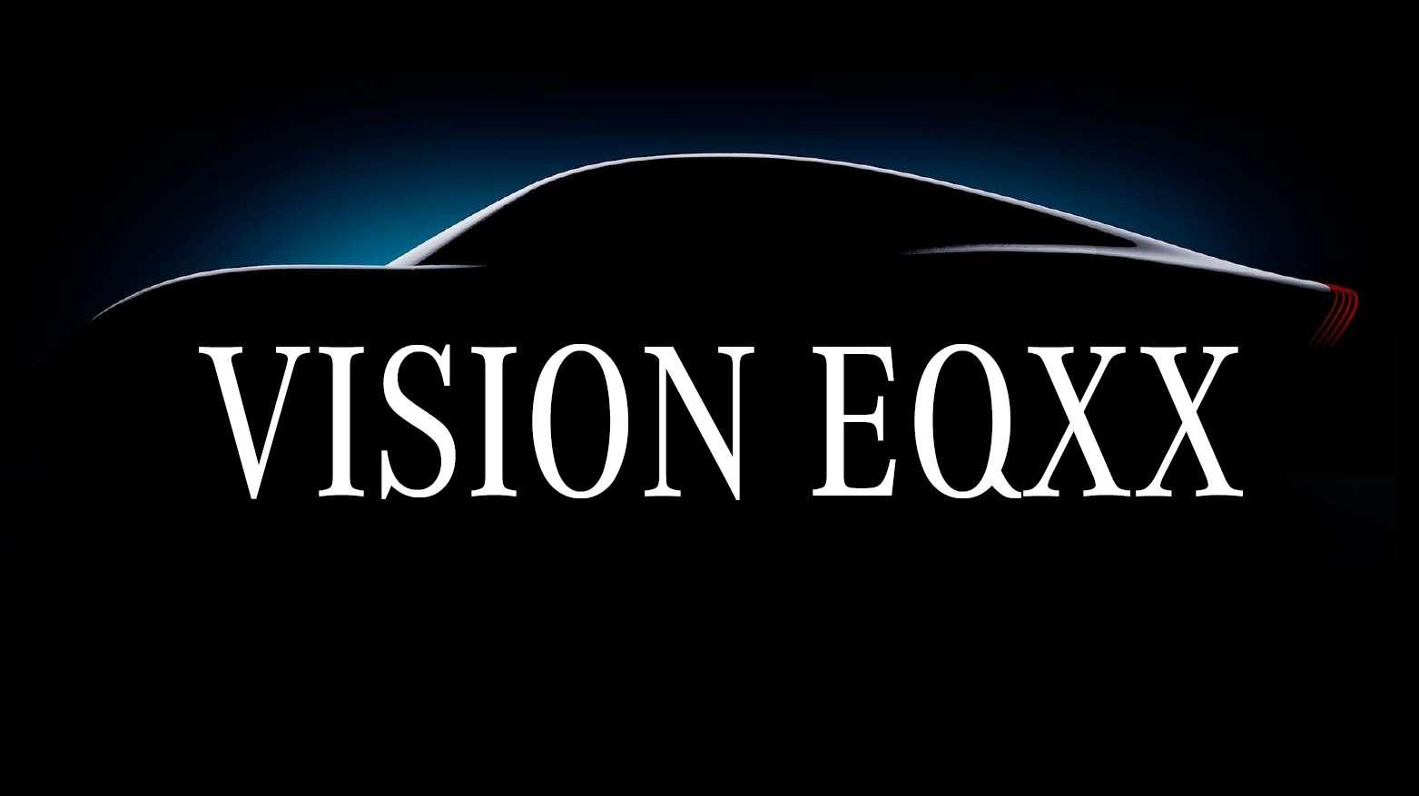 Difficile pour le moment d'imaginer à quoi ressemblera la Mercedes-Benz EQXX. © Mercedes-Benz