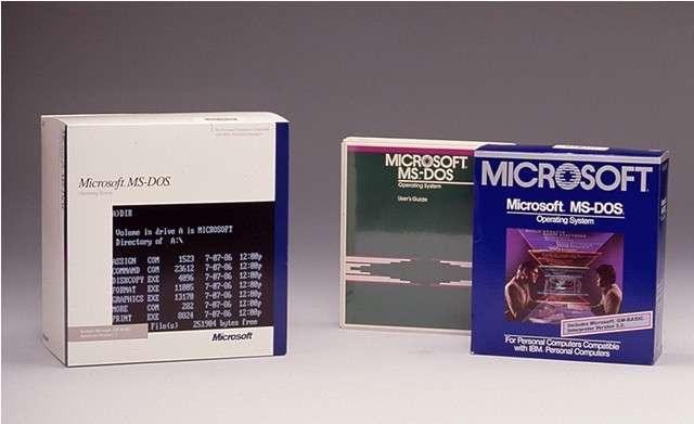 Microsoft a rendu publics les codes sources des premières versions de MS-Dos et de Word pour Windows. Des produits qui ont marqué l'histoire de l'informatique grand public et contribué à faire de Microsoft le géant qu'il est devenu. © Microsoft