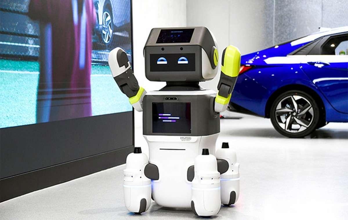 Le robot DAL-e de Hyundai va faire ses début dans une concession de la marque en Corée du Sud. © Hyundai