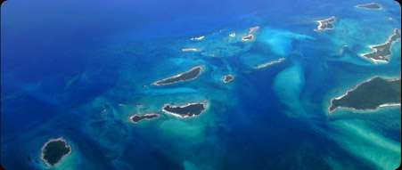 L'archipel des Bahamas. © paradise-bay-bahamas.com