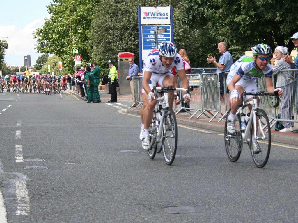 Le tracé du Tour de France comprend 21 étapes, entrecoupées de deux jours de repos. © Jon's pics, Flickr, cc by 2.0