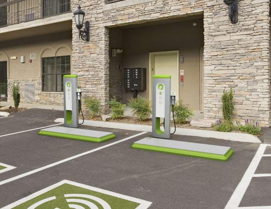 Une station de recharge sans fil. © Plugless Power