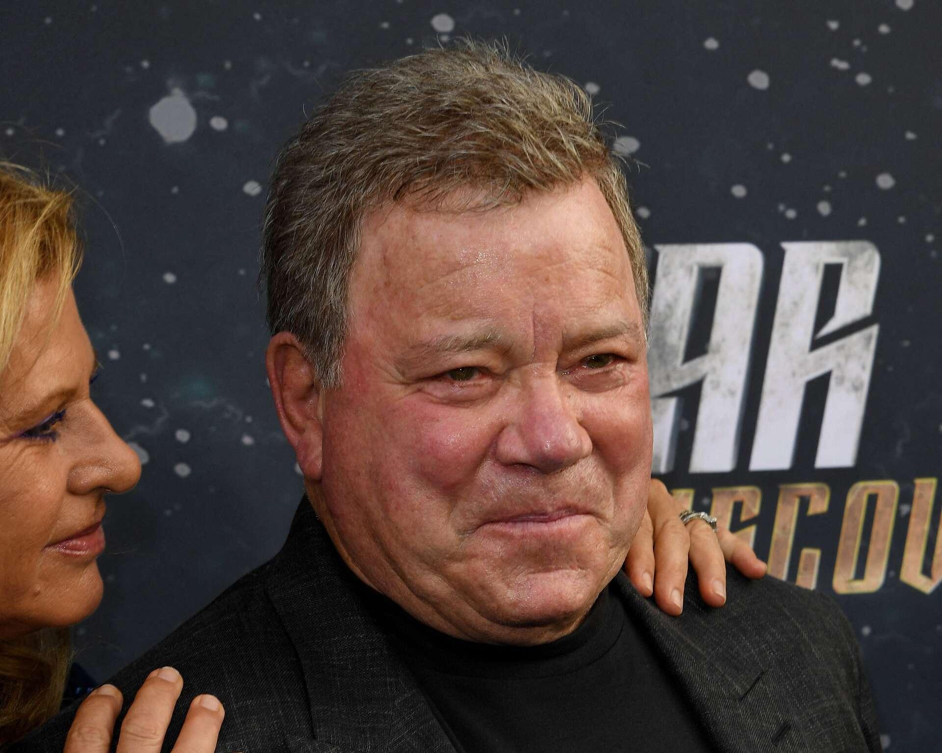 Suivez en direct le premier voyage dans l'espace du capitaine Kirk alias William Shatner !