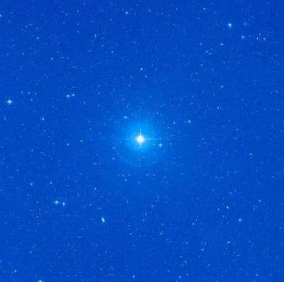 L'étoile 61 Virginis. Crédit : Nasa