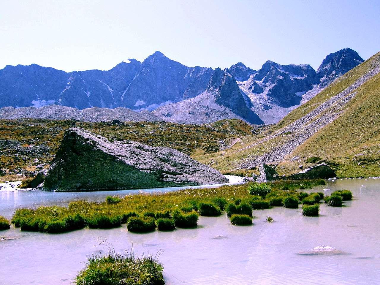 Le parc national des Écrins a été nommé Parc européen de la haute montagne par le Conseil de l'Europe. © Dominicus Johannes Bergsma, Wikimedia Commons, cc by sa 3.0