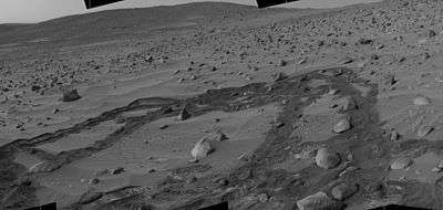 Vue de Mars par Spirit