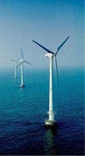 Parc éolien en pleine mer (offshore)