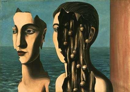Le double secret (René Magritte, Liège, Belgique, 1927).