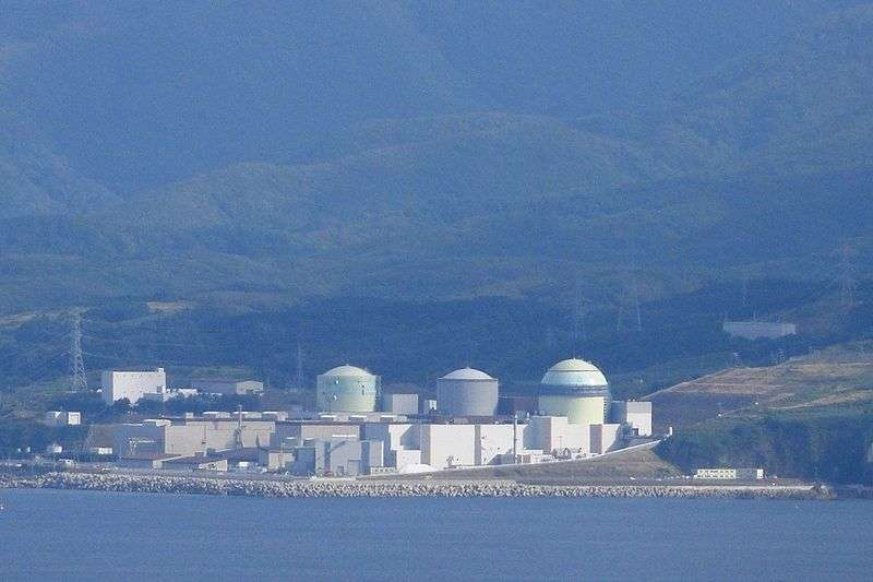 La centrale nucléaire de Tomari, sur l'île d'Hokkaido. © Mugu-shisai CC by-nc-sa 3.0