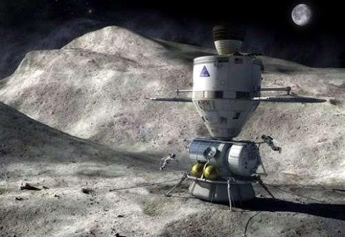 Une mission habitée sur un astéroïde, voire autour de Mars, pourrait préfigurer le débarquement d'humains sur la Planète rouge. Crédit Nasa