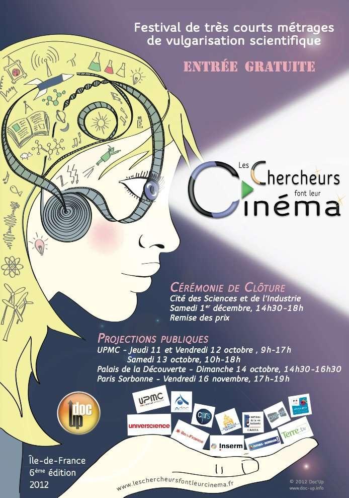 Les chercheurs font leur cinéma : un festival des jeunes scientifiques. Les doctorants se mettent en scène dans des courts métrages. © Doc'Up