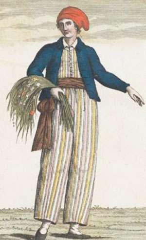 Jeanne Barret est ici habillée en marin. © Wikipédia, Domaine public
