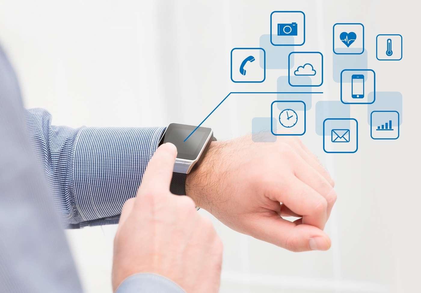 Les montres connectées sont aujourd'hui de véritables ordinateurs miniatures très sophistiqués. © Scyther5, Shutterstock