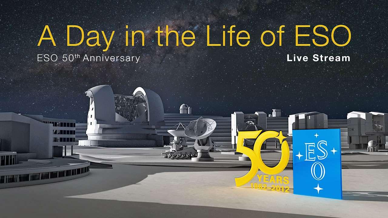 L'ESO fête un demi-siècle de découvertes astronomiques majeures. © ESO