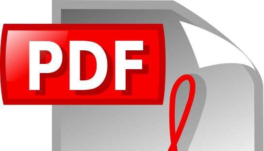 La conversion des documents PDF en Word permet ensuite de modifier les contenus à volonté. © Mimooh, Wikimedia Commons, CC by-sa 3.0
