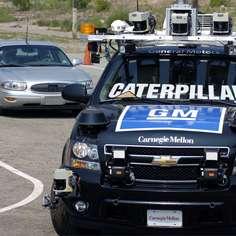 La Chevrolet Chevy Tahoe de l'équipe Tartan Racing, vainqueur de l'épreuve © Darpa