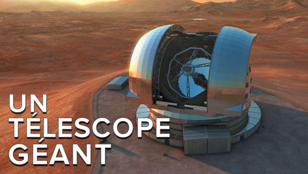 L'E-ELT sera l'un des plus grands télescopes jamais construits