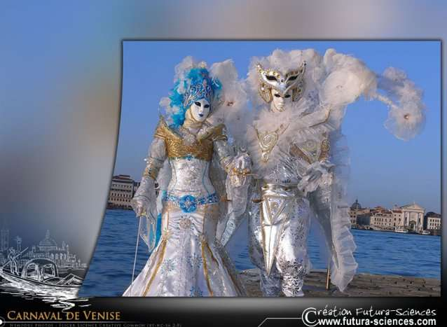 Choisissez votre fond d'écran sur le Carnaval de Venise. © Futura-Sciences