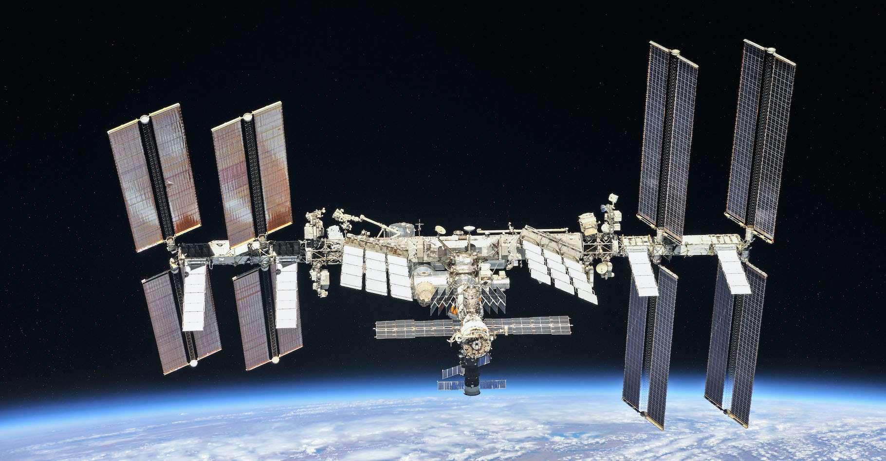 Trois voyageurs de l'espace sont revenus sur Terre aujourd'hui après avoir séjourné plusieurs mois à bord de la Station spatiale internationale. © Nasa, Roscosmos, Wikipedia, Domaine public