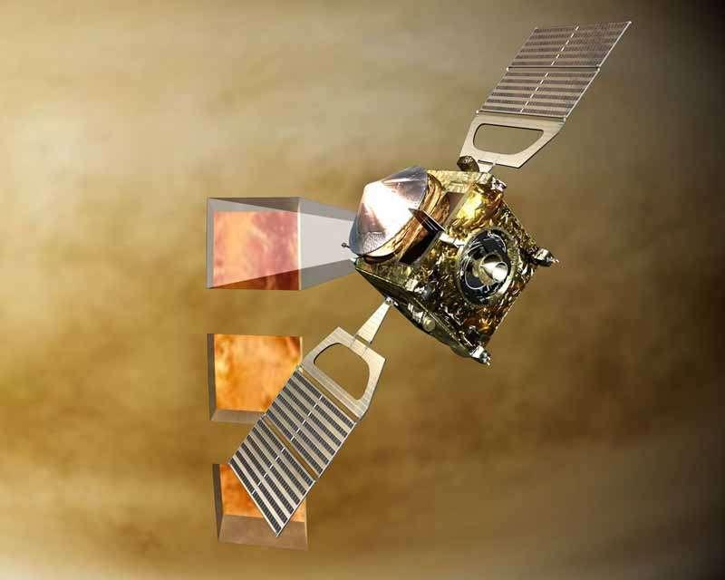 La sonde européenne Venus Express. Crédit : Esa