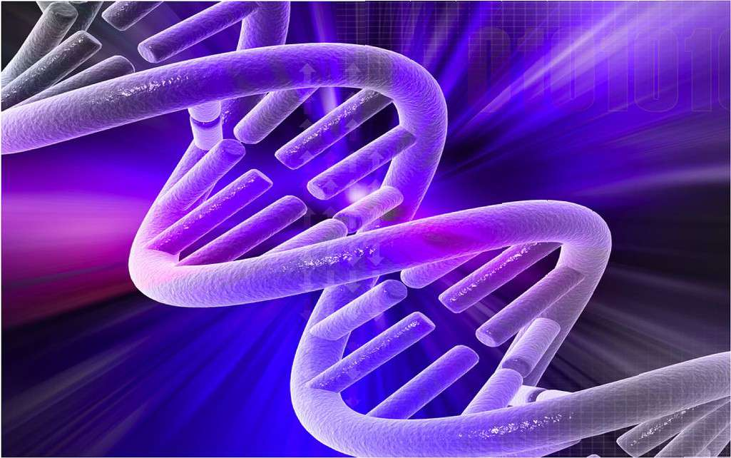 Les scientifiques ont introduit le gène sain dans l'ADN de cellules souches sanguines porteuses d'une anomalie génétique. © AndreaLaurel, Flickr, CC by 2.0