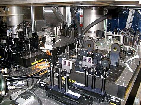 Les FSU (Fringe Sensor Units), c'est-à-dire les détecteurs de franges. © Françoise Delplancke