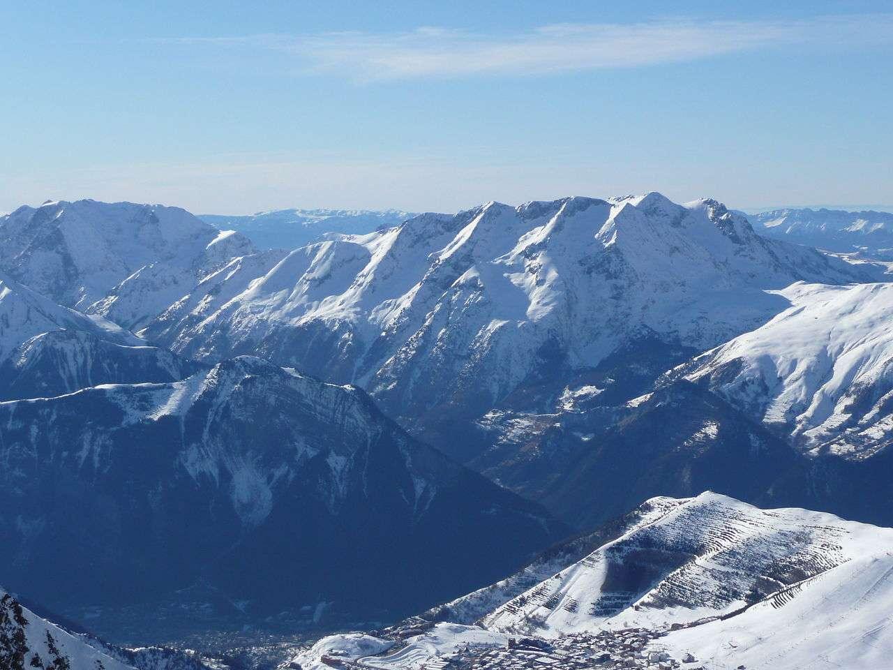 Les stations de ski dans les Alpes du Nord vont des grandes stations de ski renommées aux petites stations de village. © Simdaperce, Wikimedia Commons, cc by sa 3.0
