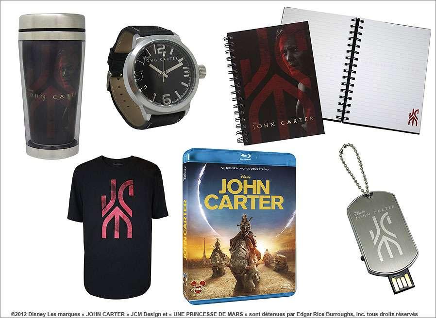Concours « John Carter » : les lots à gagner ! © DR