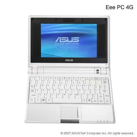 Asus EeePC : un modèle réduit d'ordinateur pour 300 euros
