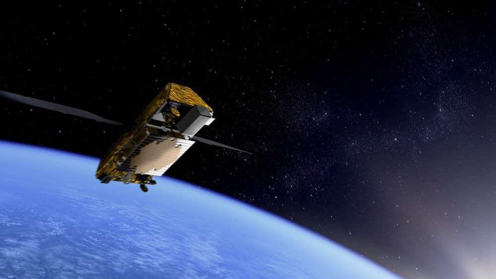 Les premiers des 66 satellites Iridium Next devraient être lancés dès 2015. Crédit Thales Alenia Space