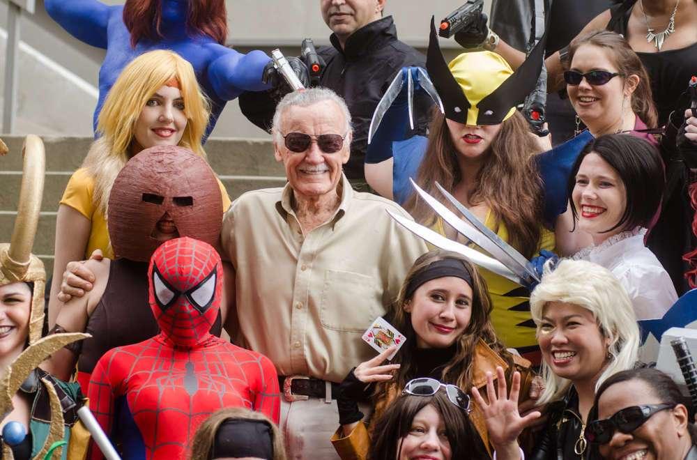 Le père des super-héros Marvel Stan Lee (28 décembre 1922, 12 novembre 2018) s'est éteint à l'âge de 95 ans. © Wikimedia Commons, CC By-SA 2.0