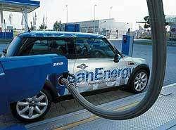 L'hydrogène est une alternative possible à l'essence dans les véhicules