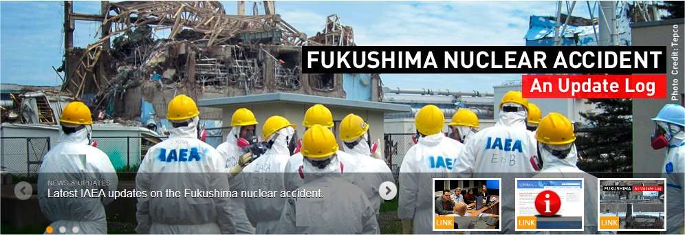 Les experts de l'AIEA ont visité la centrale de Fukushima-Daiishi. © DR
