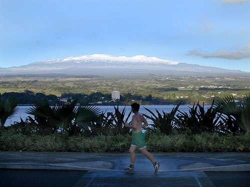 Les neiges du Mauna Kea (Crédit : Steven Parente).