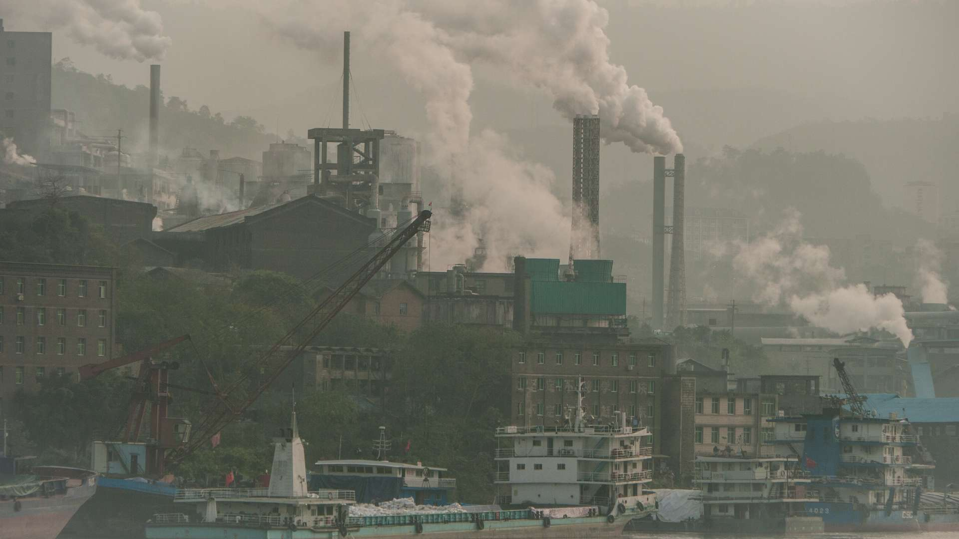Les mesures prises pour enrayer la propagation du coronavirus ont eu un impact positif sur la pollution de l'air en Chine. © dblumenberg, Adobe Stock