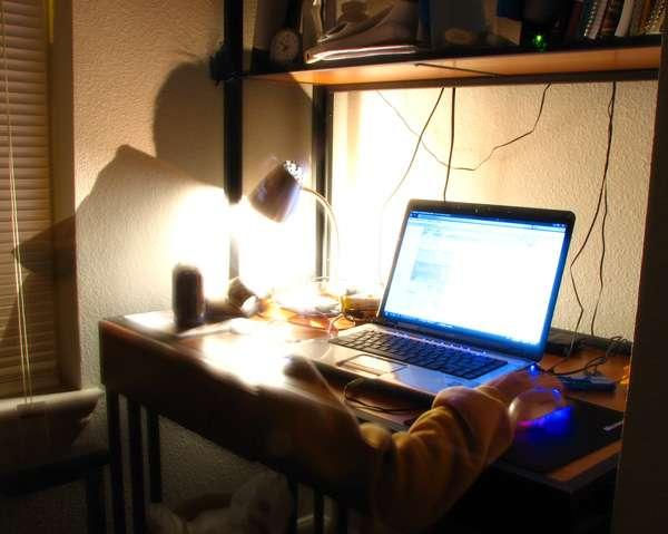 Une heure passée sur Internet pour le plaisir, ce serait environ sept minutes de sommeil en moins. © Sinbad 28, Wikimedia Commons, DP