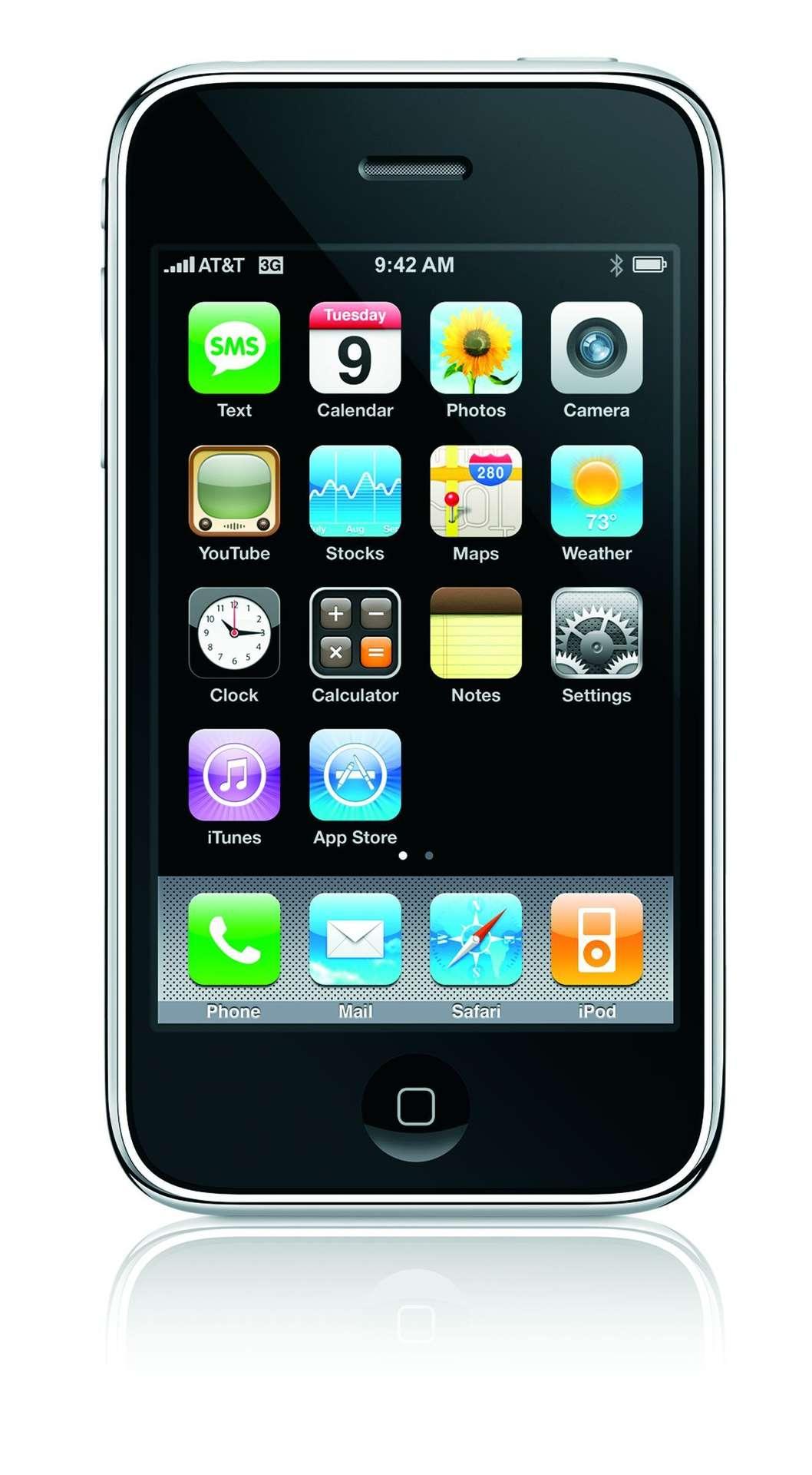Décidément, l'iPhone est véritablement une star qui sait faire d'elle. © Apple