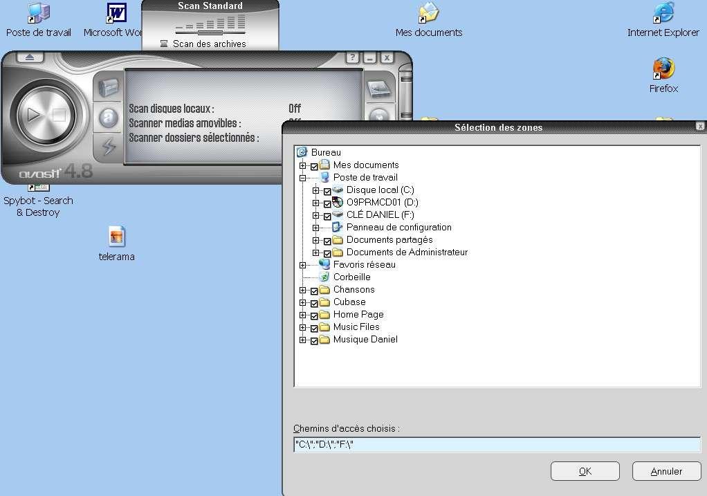 Installer et utiliser un antivirus, comme Avast. © Futura-Techno