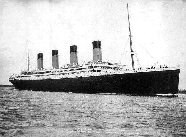 Le voyage inaugural du RMS Titanic, propriété de la White Star Line, a commencé au port de Southampton le 14 avril 1912. © F.G.O. Stuart, Wikimedia commons