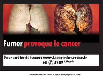 Les nouveaux paquets de tabac illustrés. © DR