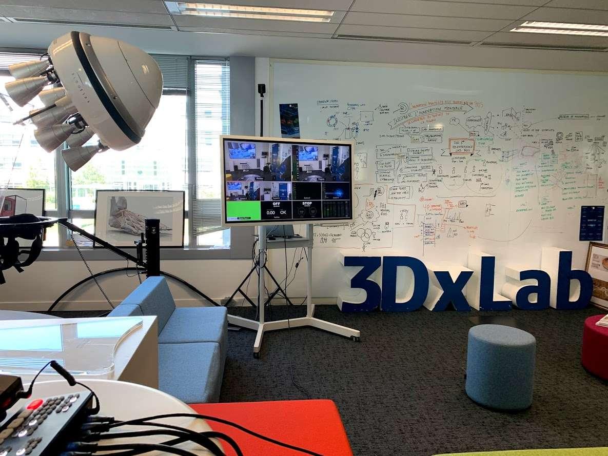 Au coeur du 3DEXPERIENCE Lab ©Dassault Systèmes