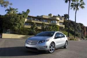 L'hybride rechargeable Chevrolet Volt. © DR