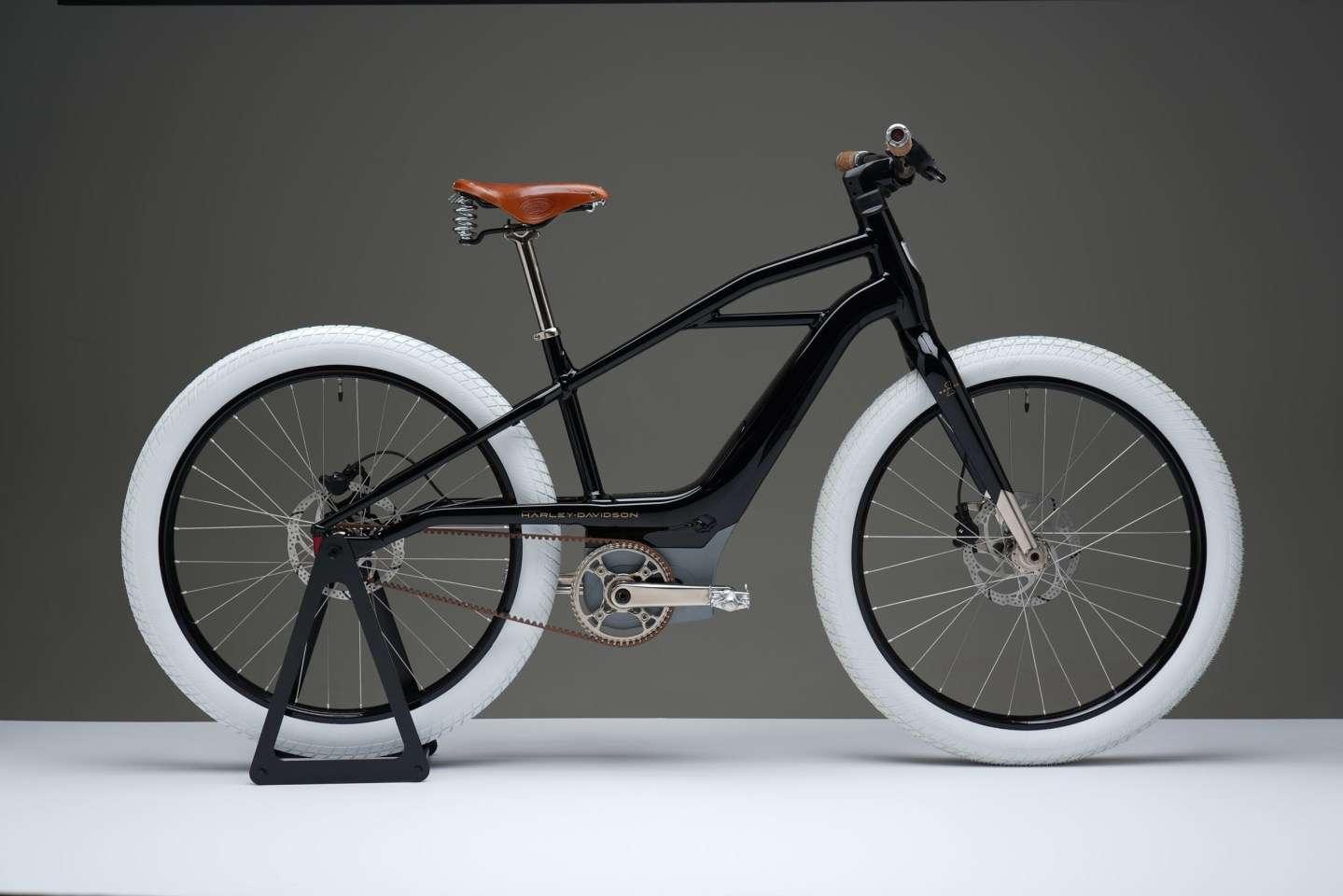 Le prototype du premier vélo électrique Harley Davidson. © Serial 1 Cycle