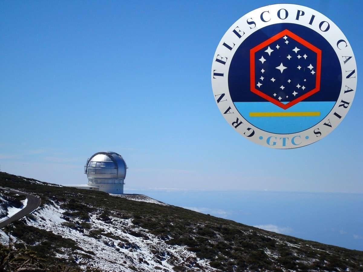 Le Grand Télescope des Canaries. Crédit J-B Feldmann
