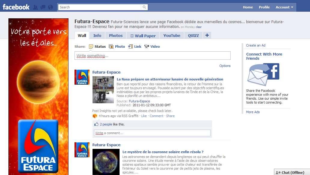 Rejoignez-nous sur Futura-Espace ! © Futura-Sciences