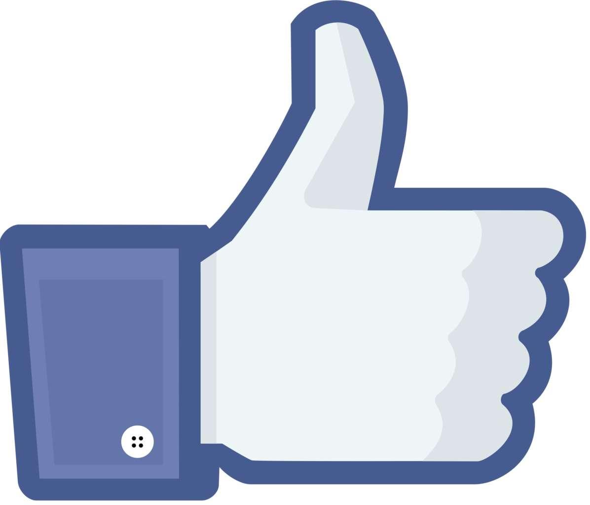 Testées pour l'instant en Espagne et en Irlande, 6 nouvelles options seront accolées au bouton « j'aime ». © Facebook